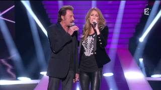 Celine Dion & Johnny Hallyday  - L'amour peut prendre froid_Le Grand Show 24 11 2012