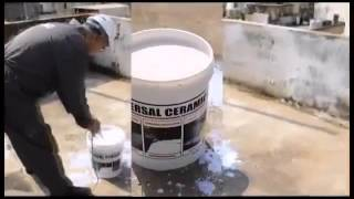 getlinkyoutube.com-UNIVERSAL CERAMICO Waterproofing أنظمة منع نشّ وعزل حراري