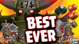 getlinkyoutube.com-Clash Of Clans - Best Town Hall 9 Troll Base EVER - Trap Your Enemies!