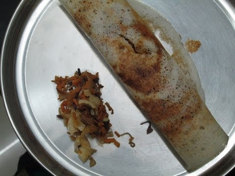 vegetable macroni dosa - dosa variety