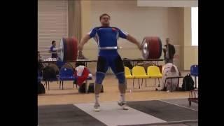 Dmitry Lapikov 205, 210 and 215 snatch!