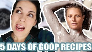 I Ate Only Gwyneth Paltrow & Goop Recipes For 5 Days