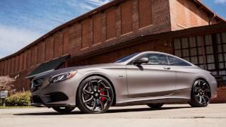 "getlinkyoutube.com-2015 Mercedes s550 Coupe Edition 1 | 22"" Forgiato Wheels | Wesley Matthews | Dallas Mavericks"