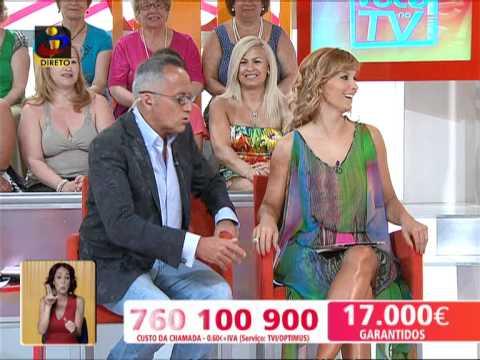 Você na TV: O grito de Manuel Luís Goucha