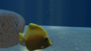 getlinkyoutube.com-3D  max underwater scene with bubbles