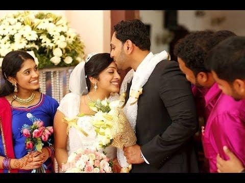 Byju & Sruthi Wedding Highlights Kerala Christian Wedding