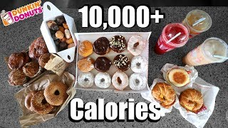 Dunkin Donuts 10,000(+) Calorie Challenge width=