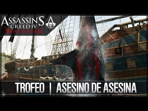 ASSASSINS CREED 4 BLACK FLAG GAMEPLAY EL CAZADOR DE BALLENAS ASESINAS EN HD
