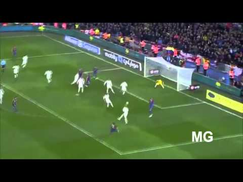 Dani Alves goal vs Real Madrid - La Bomba [HD]