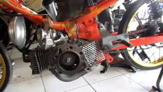 getlinkyoutube.com-F1ZR Drag 116cc tune up (kopral163.com) Pak Eko Garmoz
