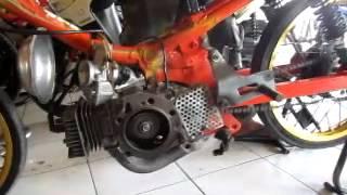F1ZR Drag 116cc tune up (kopral163.com) Pak Eko Garmoz
