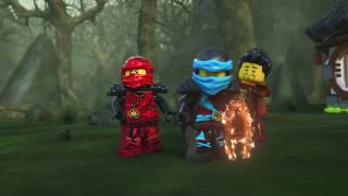 getlinkyoutube.com-Dragons Forge - LEGO Ninjago - 70627 - Product Animation