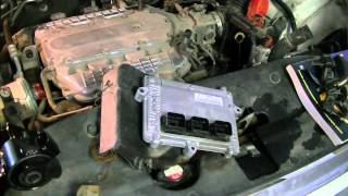 2005 Odyssey EX motor mount replacement Pt1