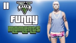 getlinkyoutube.com-GTA 5 Online Funny Moments Ep. 11 (Beach Bum DLC, Random Fun)