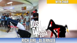 getlinkyoutube.com-Just Dance 2014 @ Waltermart, Makati - Rich Girl (with chair)