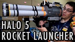 getlinkyoutube.com-LEGO Halo 5 rocket launcher SPNKr | Brickworld Chicago 2016