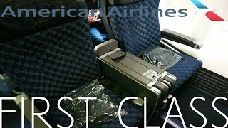 getlinkyoutube.com-American Airlines FIRST CLASS San Diego to New York|Boeing 737-800