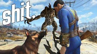 getlinkyoutube.com-TOD DEN TODESKRALLEN! - Fallout 4 | Gameplay Montage - Part 3
