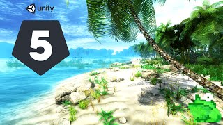 [Unity 5] Speed Level Design - Tropical Island | Mr. Frog Games