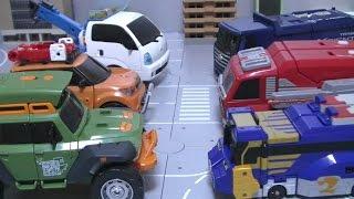 getlinkyoutube.com-또봇K 장난감 Tobot K Toys 카봇 미니특공대 엔진포스