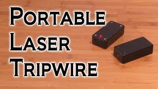 getlinkyoutube.com-DIY Portable Laser Tripwire!