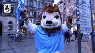München ist blau