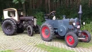 getlinkyoutube.com-Deutz Stahlschlepper und Lanz Bulldog