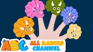getlinkyoutube.com-Dinosaur Finger Family Song | Cute DINOSAUR Song | Nursery Rhymes Collection | All Babies Channel