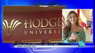 Majani Lullein explica los formatos de clases ofrecidos en Hodges University
