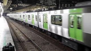 getlinkyoutube.com-山手線E235系トウ01編成大崎駅発車