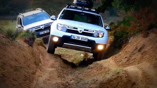 getlinkyoutube.com-Renault / Dacia Duster 4x4 - Articulation Performance