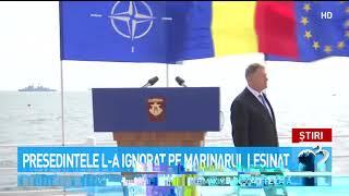 Cum A Reacționat Iohannis Când Un Militar American Care Participa La Ceremoniile De Ziua Marinei A