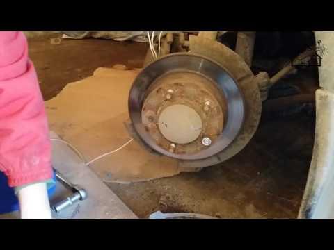 Замена шпильки переднего колеса в Нива Шевроле/Niva Chevrolet