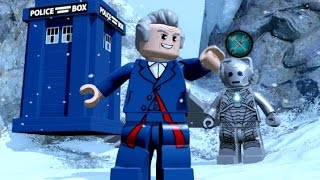 getlinkyoutube.com-LEGO Dimensions - Doctor Who Adventure World - All Restorations and Races Completed