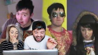 getlinkyoutube.com-ME AND MELKA REACTING TO OUR OLD VIDEOS (CRINGE)