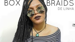 getlinkyoutube.com-Box Braids/ Linha de Croche Trancas curtas.