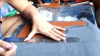getlinkyoutube.com-วิธีการทำกระเป๋าหนัง