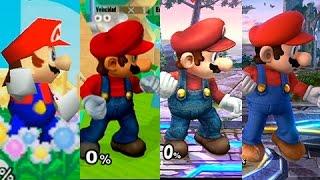 getlinkyoutube.com-Super Smash Bros Wii U | Mario Evolution