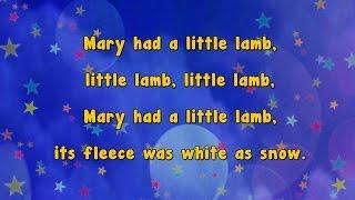 getlinkyoutube.com-Karaoke - Mary Had A Little Lamb | Karaoke Rhymes