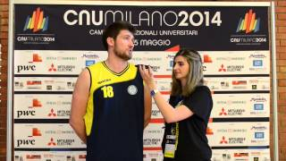 Roberto Bertolino, CUS Pisa intervistato da Giuliana Lorenzo