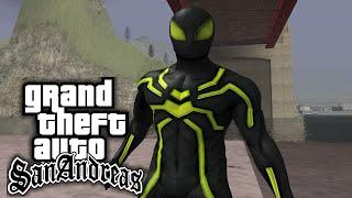 getlinkyoutube.com-GTA San Andreas - Spiderman Mod