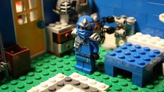 getlinkyoutube.com-Ninjago Stop Motion Short: Jay's crazy day!