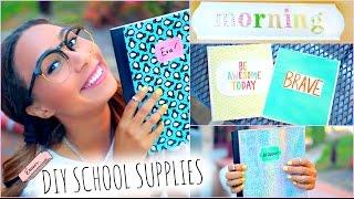 getlinkyoutube.com-DIY School Supplies! + Back To School Room Decorations