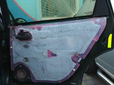 Как снять обшивку (карту) задней двери на opel vectra B весело на Опель