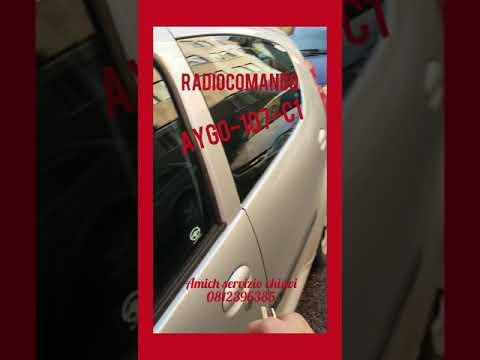 Copia Chiave con Radiocomando ... C1, Toyota Aygo, Peugeot 107
