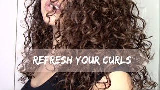 getlinkyoutube.com-HOW TO REFRESH/RESTYLE YOUR CURLS