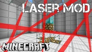 getlinkyoutube.com-Minecraft Mod - LASER MOD (Brucia, Uccidi, Vola e Tanto Altro) - ITA