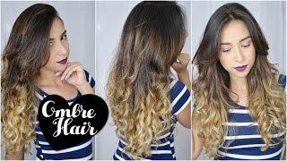 getlinkyoutube.com-Como fazer Ombre Hair em casa
