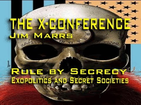 Rule by Secrecy - Exopolitics and Secret Societies - Jim Marrs LIVE