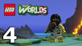 getlinkyoutube.com-The Jnx spelar Lego Worlds | #4 | Massor med juveler